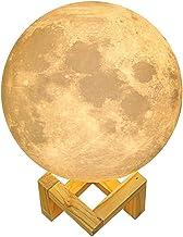 Generic Moon Lamp, White, 20 cm, EM-012-01