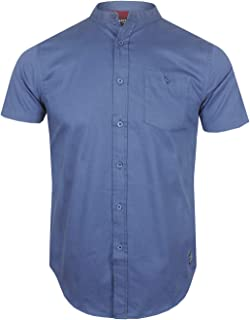 BRAVE SOUL Mens Short Sleeve Shirt 100% Cotton SS19 New Sizes S to XL