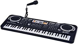 61 key children's electronic piano with microphone piano multi-function educational toys
