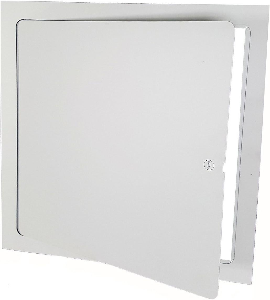Premier shop FL-12 x 12 Flush Access Door Topics on TV Steel White Powder Coated
