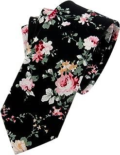 Men's Cotton Printed Floral Neck Tie