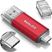 THKAILAR USB C Flash Drive Dual 128GB 256GB 512GB High Speed USB Thumb Drives for MacBook Pro/Android Phone/PC/Galaxy(USB ...