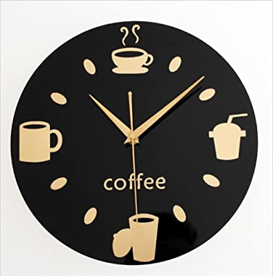 GAOYF Fashion Creative Kitchen Dining room Casual tableware Wall Clock Bar