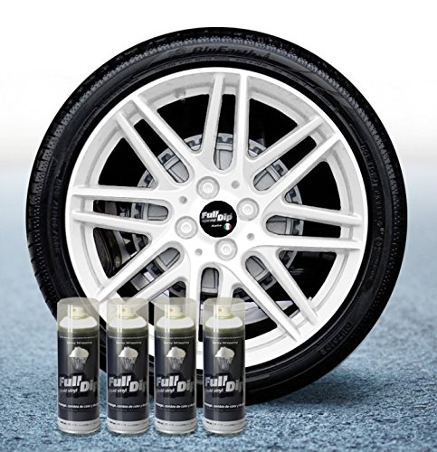 Sophisticauto Full Dip Packs Ahorro Llantas 4 Sprays Blanco Mate