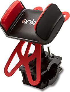 Bicycle/Motorcycle Phone Mount, ANKO 360 Rotation...
