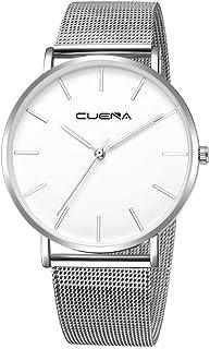 Fashion Luxury Men WristWatches,Outsta Quartz Watch Stainless Steel Dial Casual Bracelet Watch for Men Boys Gift Present