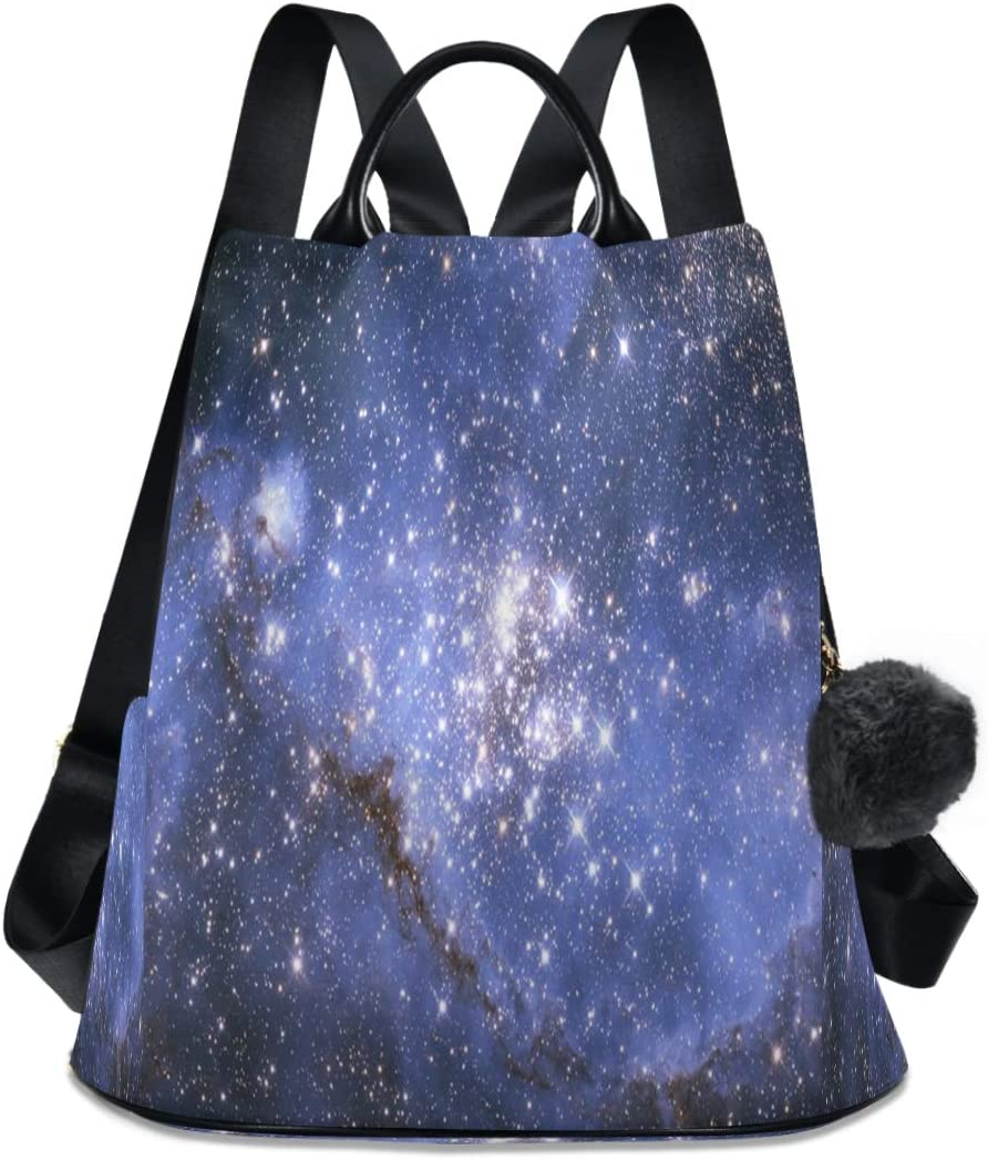 Max 81% New sales OFF ALAZA Vintage Galaxy Night Sky Purse Anti-theft Casual Backpack