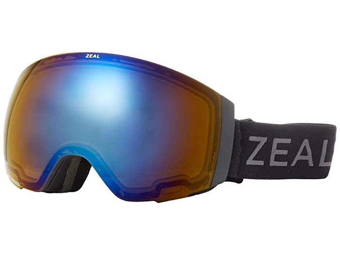 Zeal Optics Portal (Dark Night w/ Polarized Bluebird HT + Sky Blue Mirror) Snow Goggles