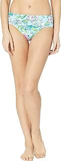 Lilly Pulitzer Women's Lagoon Sarong Hipster Bikini Bottom