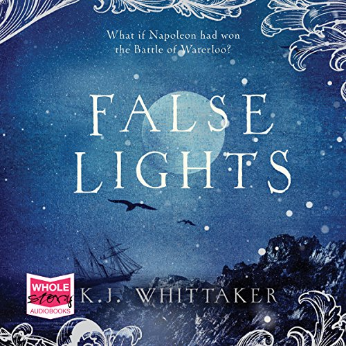 False Lights audiobook cover art