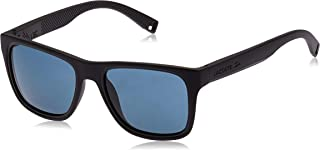 LACOSTE Men's L816SP 001 54 Sunglasses, Matte Black