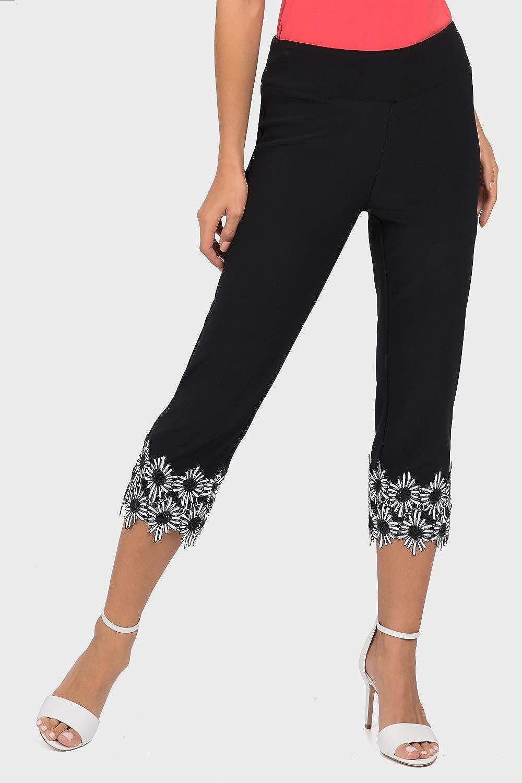 Joseph Ribkoff Black White Pants Style 191120