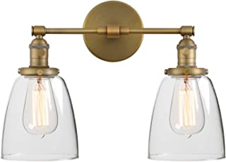 Best brass double wall sconces Reviews