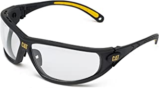 Caterpillar mens Caterpillar Mens Dozer Protective Workwear Safety Glasses White