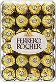 ferrero rocher fine hazelnut chocolates gift box, 48 count chocolates, 600 grams