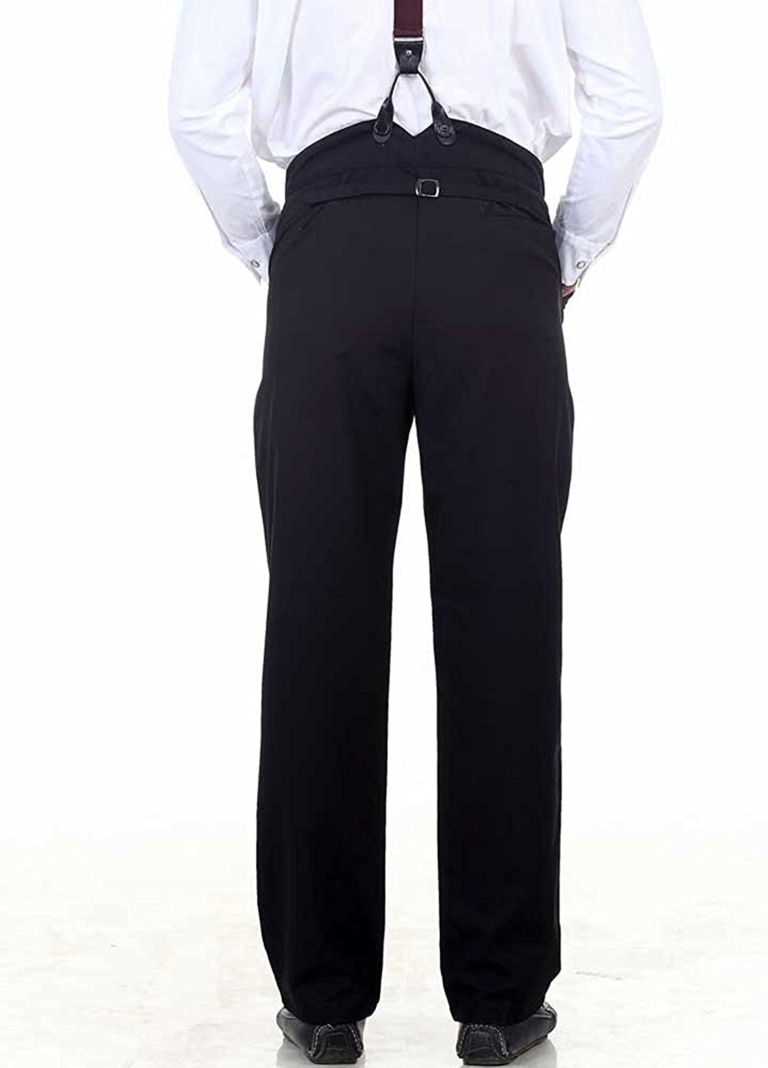 Men's Steampunk Costume Essentials ThePirateDressing Steampunk Cosplay Costume Classic Victorian Mens Pants Trousers C1331  AT vintagedancer.com