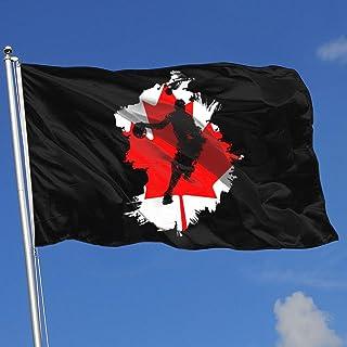 Zudrold Banderas al Aire Libre Jugador de Baloncesto Bandera de Canadá Bandera para fanático de los Deportes Fútbol Baloncesto Hockey sobre béisbol