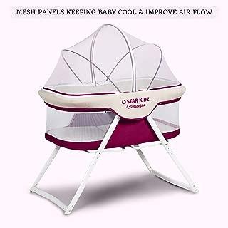 Star Kidz Compagno Baby Bassinet - Purple