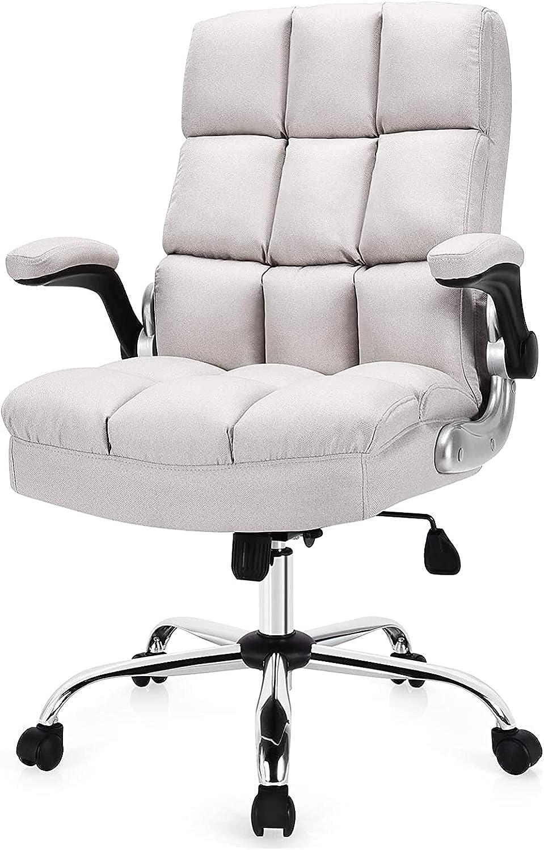 Giantex Home It Atlanta Mall is very popular Office Beige Chair
