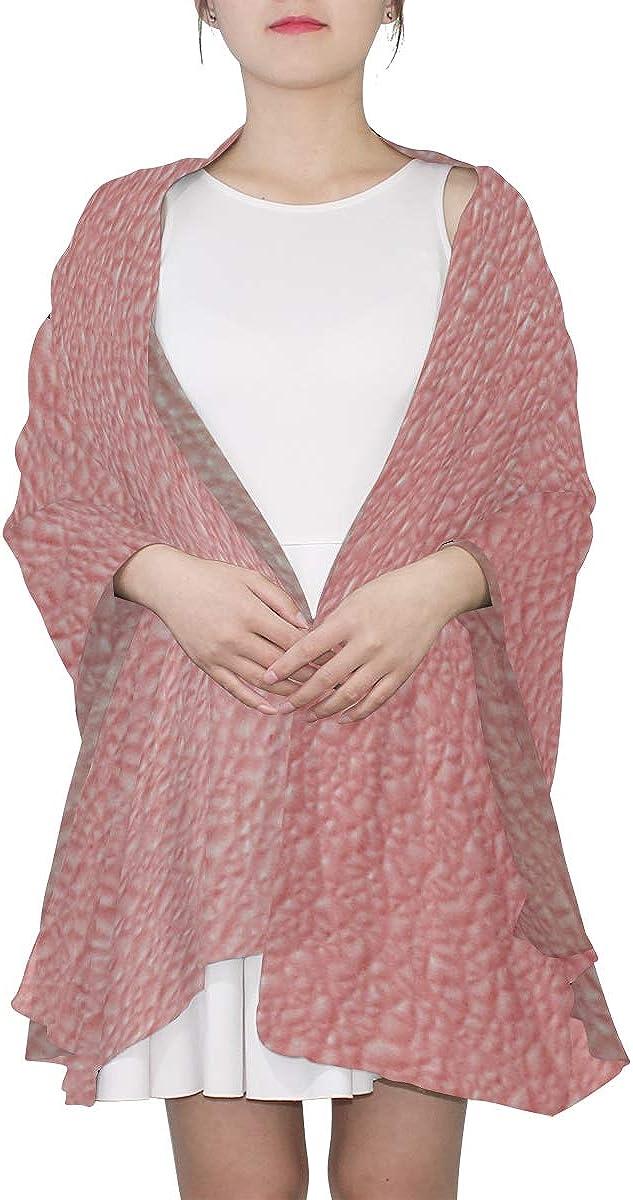 Mens Scarfs Coral Pink Color Pavers Landscape Archi Lightweight Fashion Scarfs For Women Summer Scarfs For Women Lightweight Lightweight Print Scarves Scarf Designer Women Light Scarfs For Women