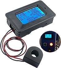 favourall Digital Voltímetro Amperímetro Corriente Meter Tester Voltaje amperage–Contador de energía LCD de Indicadores de Digital de Voltaje de Corriente V AMP Monitor Test 100A