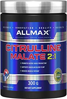 ALLMAX Nutrition Citrulline Malate, Unflavored, (300 g)