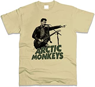 Arctic Monkeys T-Shirt Men Beige Regular Fit European Size Chart