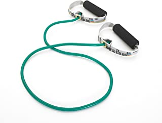 TheraBand Professional Latex Resistance Tubing with Soft Handles for Physical Therapy