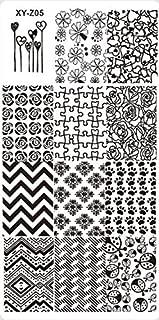 1PCS 32 Designs Nail Stamping Plates Fashion Lace/Flower/Animal Pattern Templates For Polish Nail Stamp XYZ05