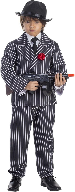 Dress Up America Kinderpinstriped Gangster Kostüm B00XLPFP10 Jeder beschriebene Artikel ist verfügbar  | Ermäßigung