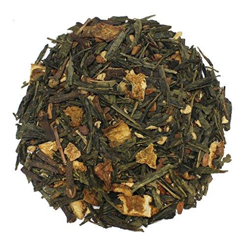 The Tea Farm - Citrus Green Chai Fruit Tea - Loose Leaf Green Tea (2 Ounce Bag)