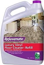 Rejuvenate High Performance Luxury Vinyl Tile Plank Floor Cleaner pH Neutral Formula Doesn't Leave Streaks or Dulling Resi...