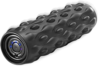 """Vulken 13"""" Vibrating Foam Roller 4 Speed High Intensity Deep Tissue Fitness Massager Muscle Recovery Trigger Point Therapy, Myofascial Release."""