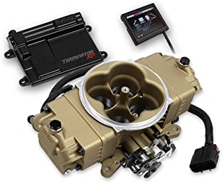 NEW HOLLEY TERMINATOR STEALTH EFI MASTER KIT THROTTLE BODY FUEL INJECTION SYSTEM,CLASSIC GOLD,950 CFM,COMPATIBLE WITH V8 250-600 HP ENGINES
