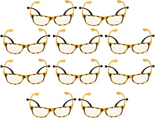D DOLITY 10 Pieces Funny Bee Party Glasses Honeybee Eyeglasses Costume Fancy Dress