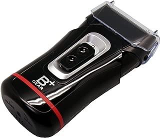 ヒーローグリーン 乾電池式 2枚刃シェーバー ブラック HG555-K