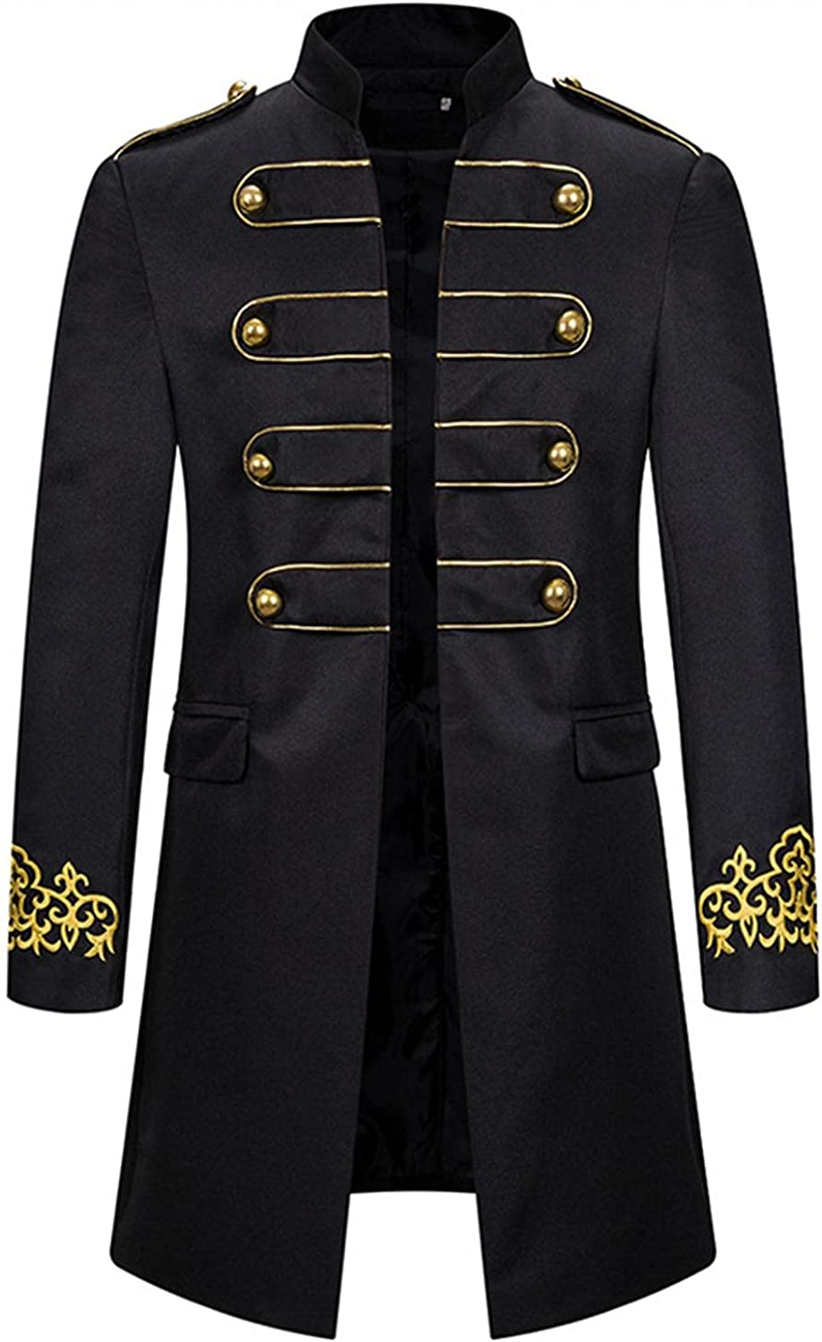 Mens Tuxedo Jacket Casual Patchwork Slim Fit Coats Open Front Fashion Blouse Outwear for Wedding Halloween Christmas