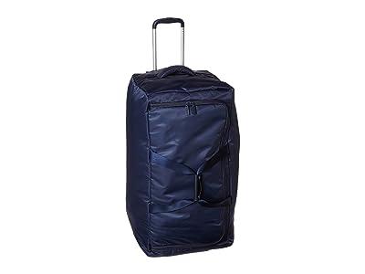 Lipault Paris 0% Pliable 30 Wheeled Duffel (Navy) Duffel Bags