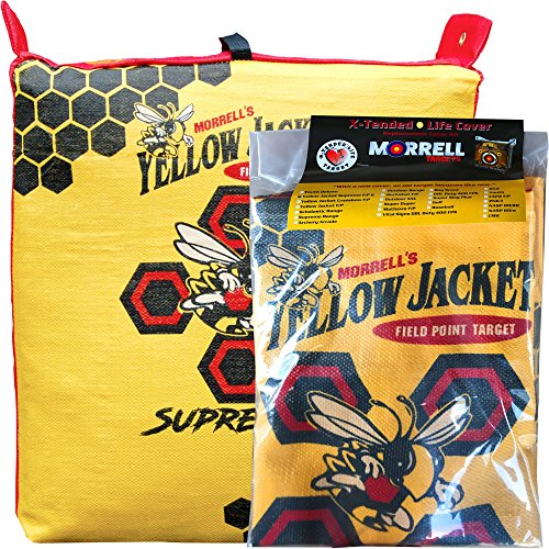 Morrell Targets Yellow Jacket Supreme 3 Archery Bag Target Cover Replacement (Cover Only), Model: 104RC