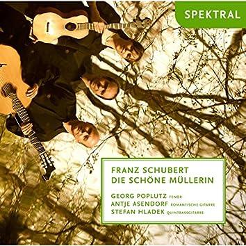 Franz Schubert: Die schöne Müllerin, arrangiert für Tenor und zwei Gitarren