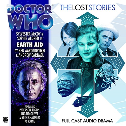 Doctor Who - The Lost Stories - Earth Aid audiobook cover art