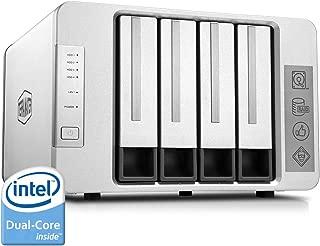 TerraMaster F4-220 NAS 4bay 2.4GHz Intel Dual Core CPU 4K Transcoding Media Server Network Storage (Diskless)