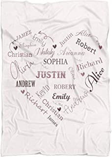 personalized blankets for mom