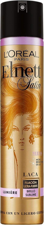 LOreal Paris Elnett Laca de Peinado Fijación fuerte Lumière