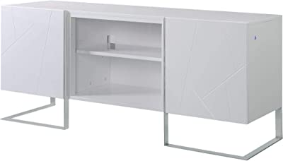 Amazon.com: Almacenamiento de CD/DVD shelf-modern soporte de ...