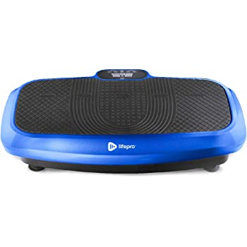 LifePro Turbo 3D Vibration Plate Exercise Machine - Dual Motor Oscillation, Pulsation + 3D Motion Vibration Platform   Full Whole Body Vibration Machine for Home Fitness & Weight Loss.