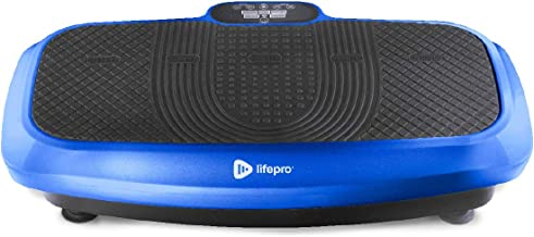 LifePro Turbo 3D Vibration Plate Exercise Machine – Dual Motor Oscillation,..