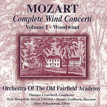Mozart: Complete Wind Concerti, Volume 1- Woodwind