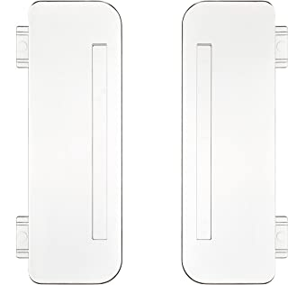 Plastic Separators Replacement for Multiport USB Charging Station - 2 Pack - Dividers for Docking Station - Baffles for Charging