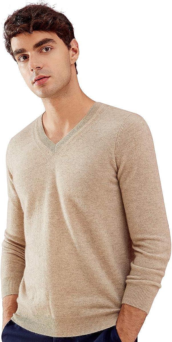 zhili 2018 Autumn Winter Men's Casual Pullover Cashmere Sweater
